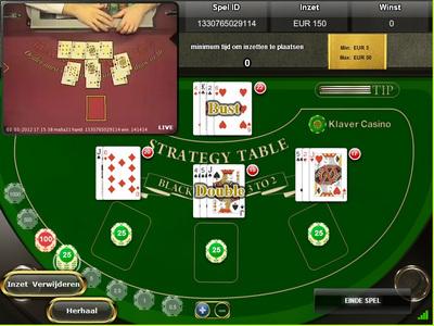 Live Blackjack Tafel